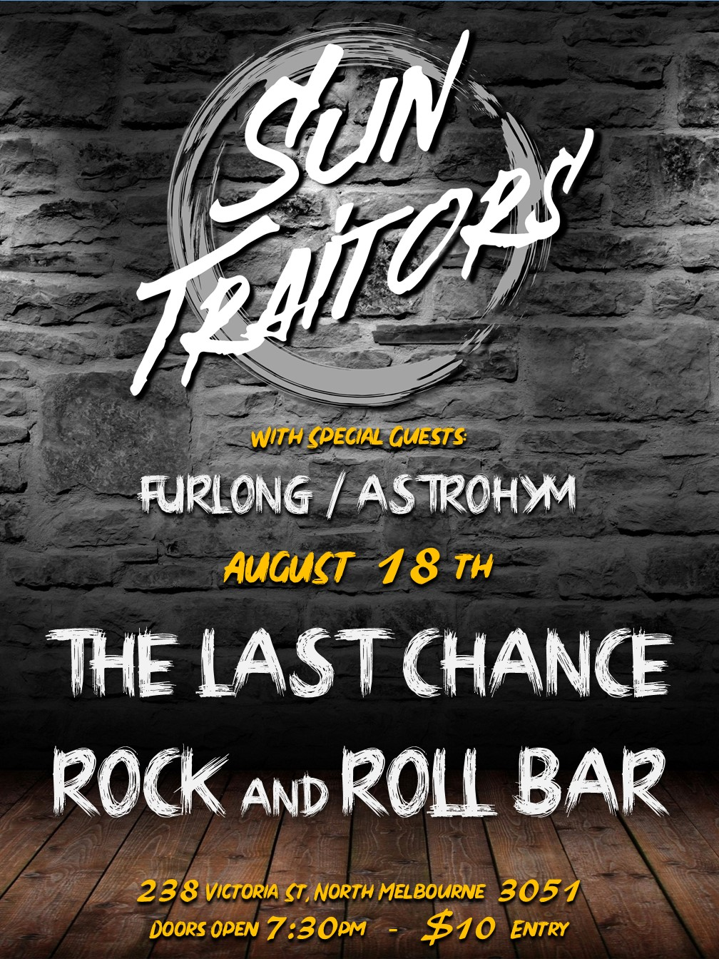 Last Chance Rock and Roll Bar Gig